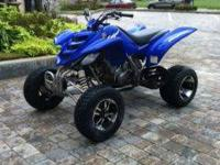 2005 YAMAHA RAPTOR 660 IS IN TERRIFIC CONDITION. JUST