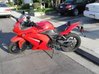 Sun Beam Red 250R. Bike has 12,332 easy miles. Simple