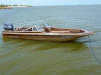 This is a Cajun Fish-N-Ski with a 70hp motor in great