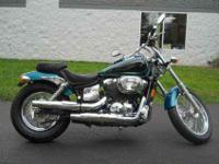 2003 HONDA SHADOW SPIRIT 750, Custom Teal/Black,
