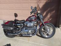 1995 Harley Davidson 883 sportster. Chromed out,