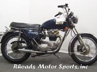 1973 Triumph Tiger 750 with 13,910 Miles.This 1973
