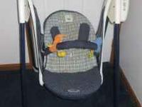 3 different kinds of baby swings the first 2 are priced