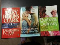 Three books for $5. Safe Haven is in perfect condition.