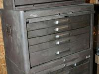 "The top box has 8 drawers and is 26-1/2"" wide and"