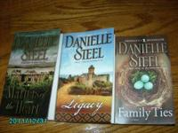 You are looking at three Danielle Steel books - all