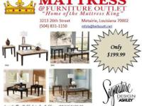 3 PC Ashley Coffee Table Sets~ $199.99~Choice the style