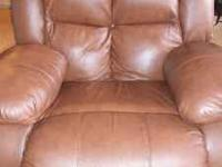 For Sale: A like new beautiful 3 piece reclining