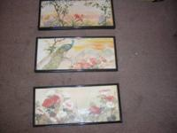 for sale new 3 Pieces wall Paint Art Set. they have