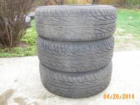 3 TIRES IN GOOD CONDITION  215-55R17 94V MS DORAL  CALL