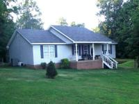 3 bedroom 2 bath brick and vinyl home on 5 acres and