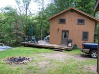 3 rooms, 1 bath, fully equipped lakefront house in a