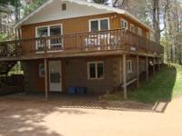 Cottage sleeps 6 -- Private setting on large Lake