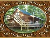 Log Cabin for rent. Three bedrooms and two baths with