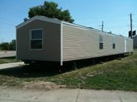 Brand new mobile home ready for delivery with new