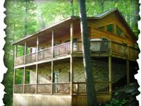 Arbor Den Log Cabin Rental is a gorgeous 3 room, 3 bath