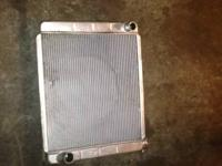 I have a 3 core radiator available for sale. Not sure