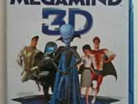 Megamind 3D - Factory Sealed - $25 Shrek 3D - I have