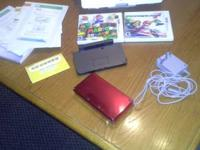 3ds flame red super Mario 3D land mariokart 7 ar cards