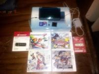 Bundle Includes: 3ds (Aqua Blue) Charger Games: Harvest