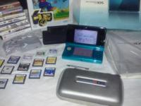 8 3DS games pluse 13 DS games. 2 protection cases all