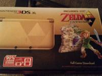 Have a 3DS XL Zelda a link between two worlds special