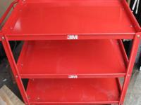 3M Heavy Duty Shop Cart 3 Shelves - $250 (South