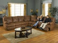 Catnapper Ranger 3pc sectional reclining chair made in