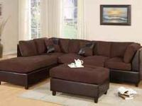 Brand New three piece sectional sofa. Includes Sofa and