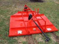 I have a 3pt 6' foot Big Bee brand brush hog mower in