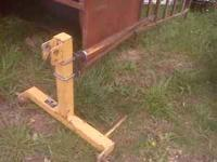 3pt bale spear $100 Creep Feeder $75  Location: Ottawa