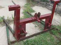 I have heavy duty 3pt Bale carrier for $125.00 if