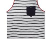 Strike up your style with this striped tank top by 3rd
