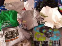 I have 6 shorts with matching shirt, 12 play shirts, 2