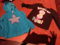 3t girls sweater jacket and pullover sweater contact if