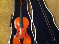 this is a nice student violin im selling for $90 or