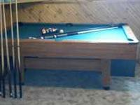 Slate Pool Table For Sale In Michigan Classifieds Buy And Sell In - 3x6 pool table