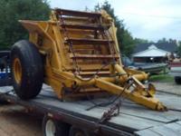 for sale, 3yd hancock 300E pull type self loading