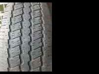 for sale is a set of 235/70/16 continental tires with