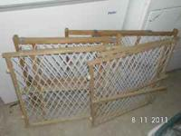 4 evenflo baby gates.  Location: Lovington