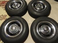 "SELLING 4- USED 15X7"" CHEVROLET RALLYS RIMS WITH ALL 4-"