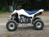 I have a 2006 suzuki ltz 400 quadsport in excellent