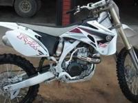 I am selling my yz 450. I bought it off showroom floor