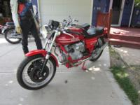 1975 LAVERDA 1000 3C TRIPLE SUPER BIKE This is a clean