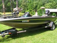 I have for sale a 2001 Javelin (Renegade 19) bass boat-