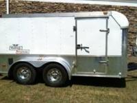2004 Enclosed Haulmark Trailer with rear access ramp