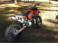 I have a 2006 ktm SX 450 4 stroke with AMR racing