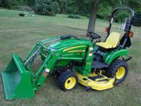 Here is a very nice low hour John Deere 2305 diesel