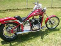 2009 Johnny Pag Spyder 300cc Chopper style motorcycle 1