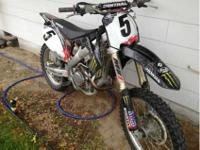 2009 Honda CRF 450. Never raced just trail riddin and